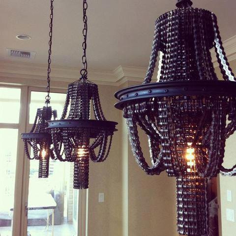 design lampadari catene