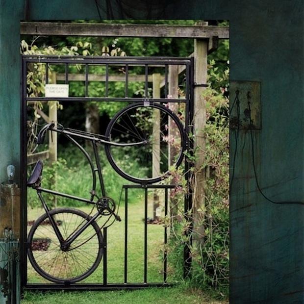giardino cancello