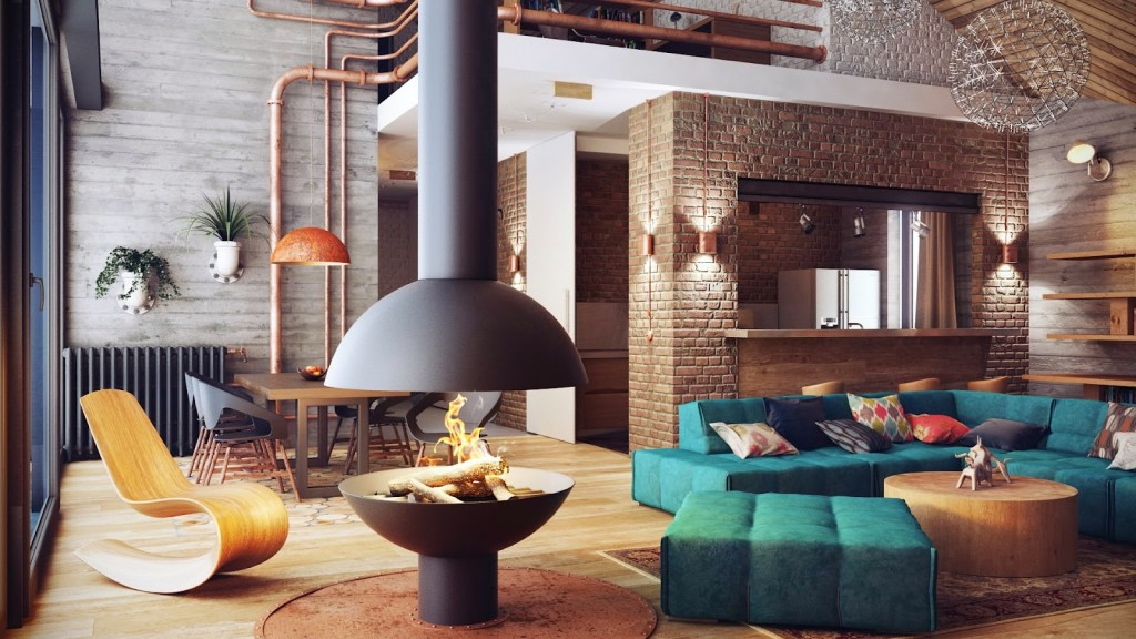 industriale Soft-Loft-Like-Interior-Design-by-Uglyanitsa-Alexander-1