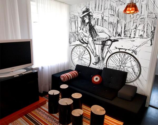 parete disegno
