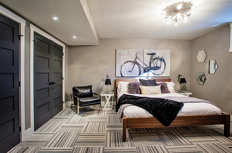 parete quadro letto