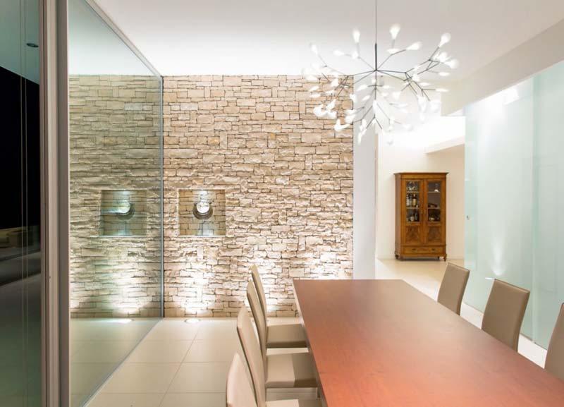 3 stili per gli amanti dei mattoni a vista e 3 soluzioni - Parete rivestita in pietra ...