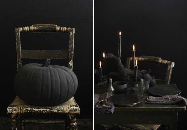 stile decorata dark Halloween