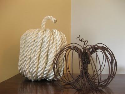 stilemateriale zucche di corda vedi tutorial