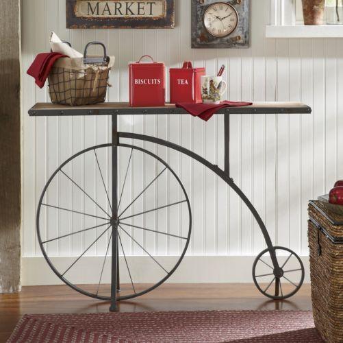 utilizzo alternativo bici vintage