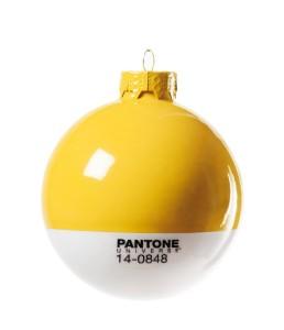 .amazon SELETTI Palla di Natale Pantone Giallo 7.20