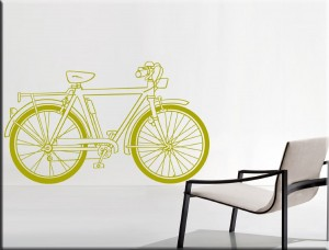 .amazon wallstickers bike 2