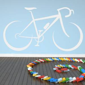 .amazon wallstickers bike