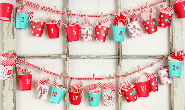 calendario dixie-cup-advent-calendar