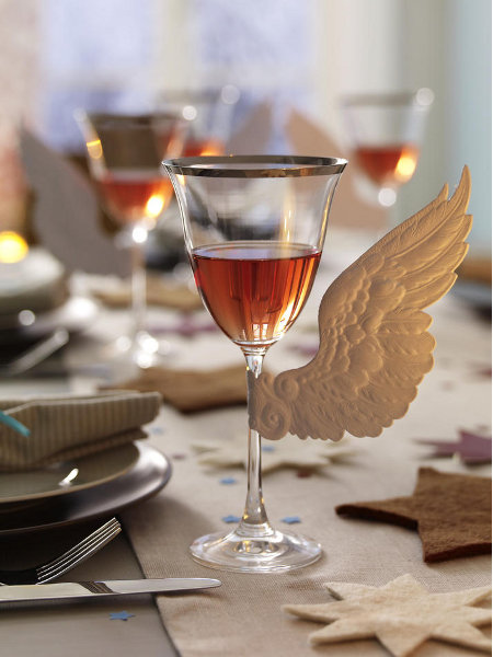 decoro dettagli caffè diy-table-decorations-wings-angel-christmas-spirit-idea