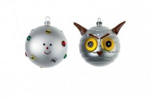 design Le palline emoticon di Alessi per Natale 2014