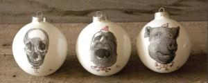 design ironiche le palle di natale di reiko kaneko