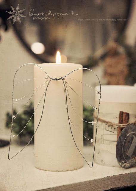 fai da te caffè fai da te fil di ferro decoro candele