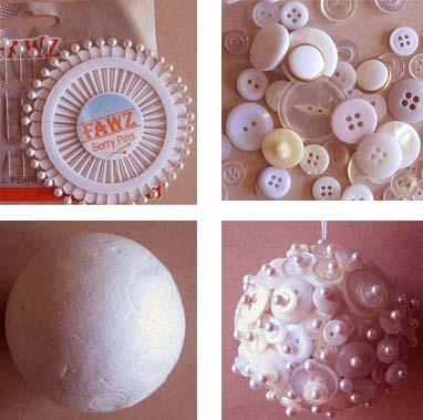 Fai da te pallina con i bottoni for Architetto fai da te