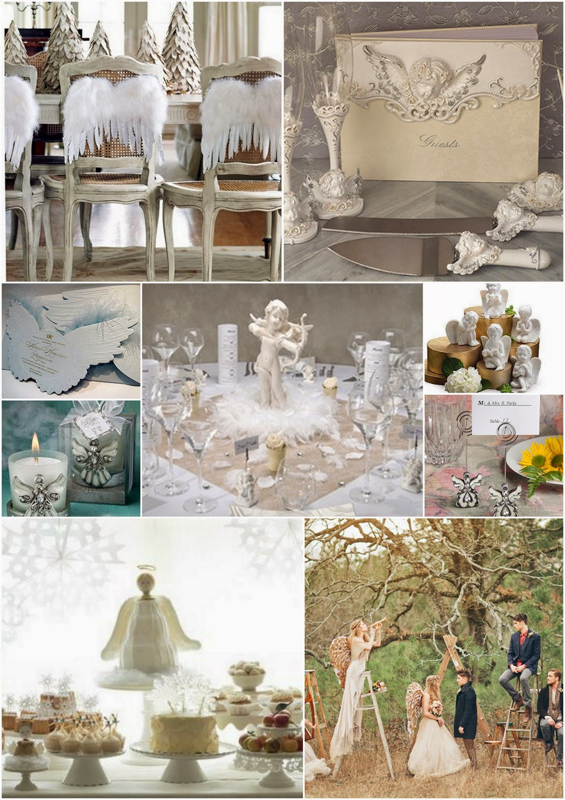 matrimonio ANGELS THEME WEDDING