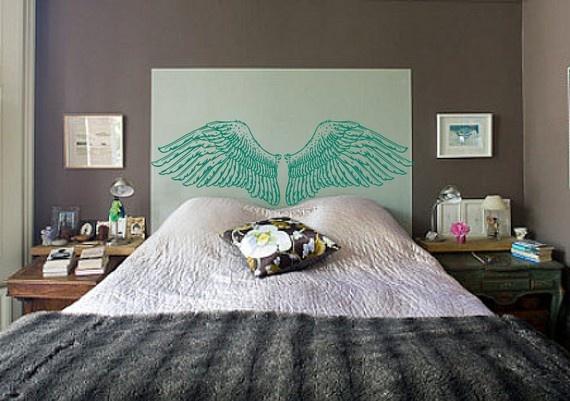 moderno letto testata