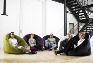 1 BIS Nest che in inglese vuol dire Nido è il nome del futon multifunzione progettato da Anders Backe e dal suo team