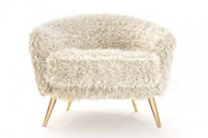 6Cutie Chair, la poltrona col pelo