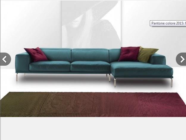 Cuscini Nicoline in tonalità Marsala Gli accessori d'arredo proposti da Nicoline con il divano City, declinati nel colore Pantone 2015
