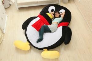Luxury-Modern-Cartoon-Penguin-Large-Floor-Cushion-Dome-font-b-Decor-b-font-Pillow-Big-Outdoor