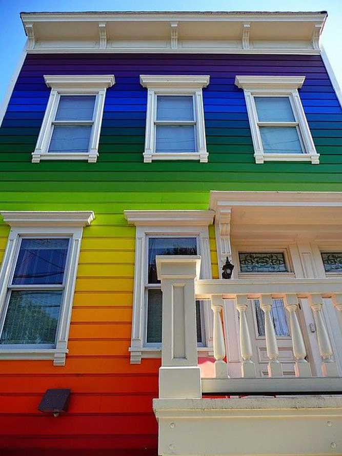 Multicolored-Rainbow-House
