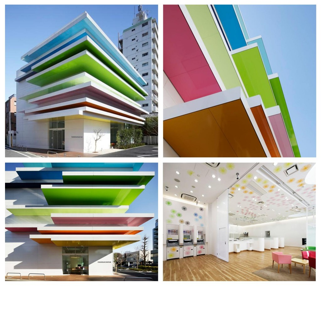 Studio di architettura giapponese, Emmanuelle Moureaux Architecture + Design ha completato 'Sugamo Shinkin Bank'.3