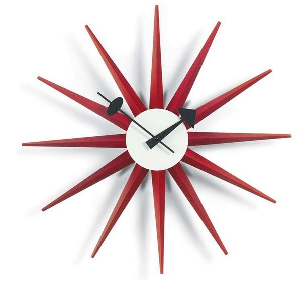 Vitra Sunburst clock di George Nelson