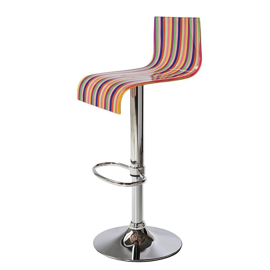 amazon 106.12 Kare Design - Sgabello da bar, motivo a righe ...