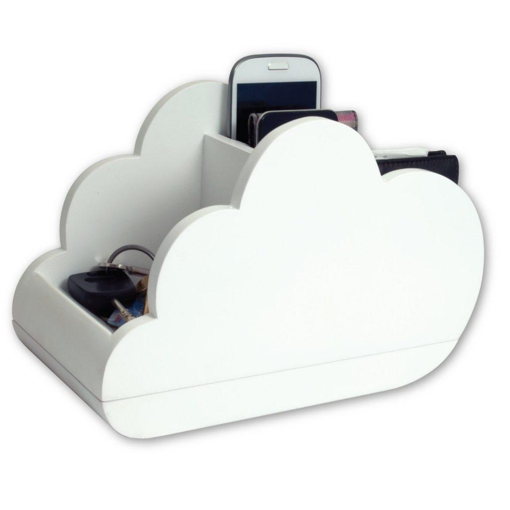 .amazon B³ Design Cloudstore - Portaoggetti a forma di nuvola 25.41