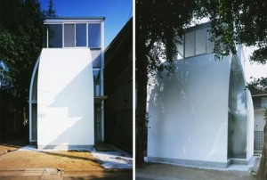 architettura casa pinguino dell'architetto giapponese yasuhiro yamashita di atelier tekuto