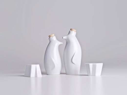 Saliera e pepe sculture e decorazioni per la tavola per la casa HARLIANGXY modello animale modellazione animale organizer per condimenti set da ristorante