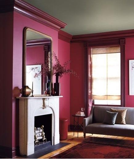 marsala colore pantone 2015: il colore anticrisi - architettura e ... - Colore Rosso Ambienti Classici Moderni