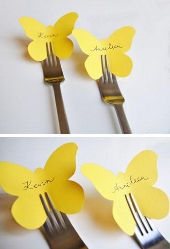 segnaposto semplici -capodanno-farfalle