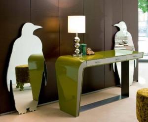 speccho pingui by creazioni perfetto per specchiarsi e per arredare stile-creazioni.com