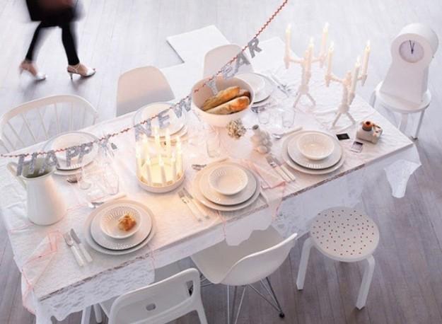 tavola-capodanno semplice total white
