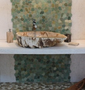 Fossil lavabo