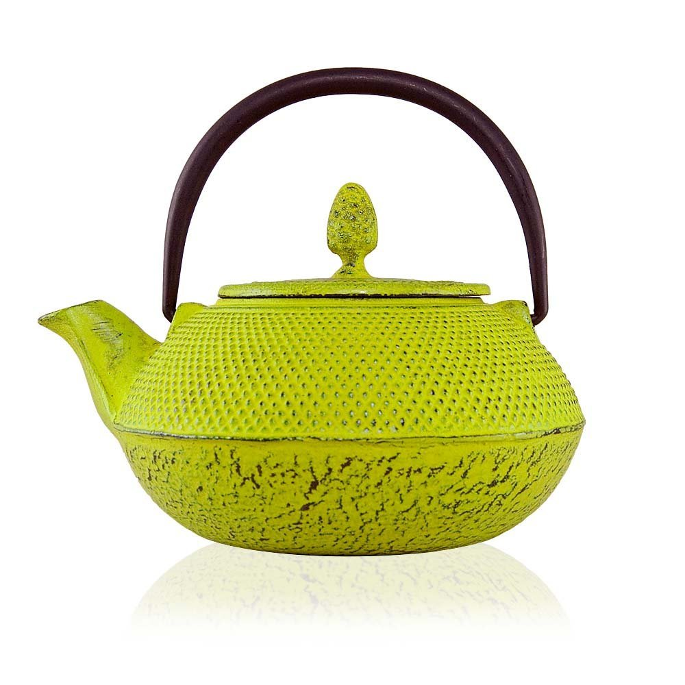 .amazon 45.00 teiera color line tetsubin tenshi in ghisa 600ml di The Exotic Teapot