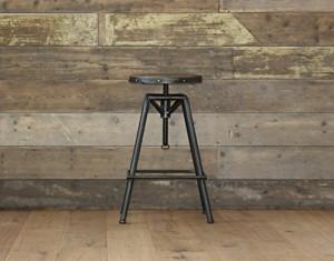 .amazon Sgabello regolabile stile bar vintage rustico industriale - peltro