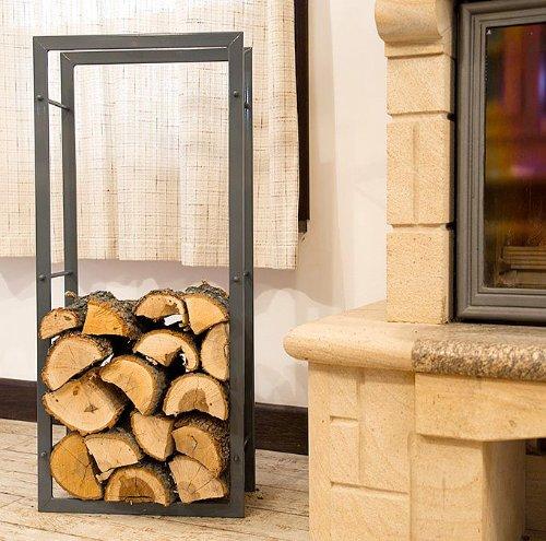 Arredare con le cataste di legna architettura e design a - Portalegna da interno ikea ...