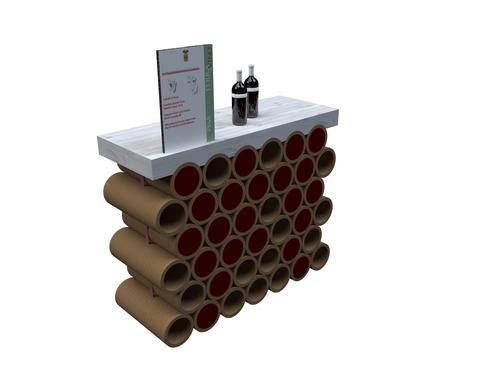 Realizzare desk e banconi creativi architettura e design for Tubi cartone