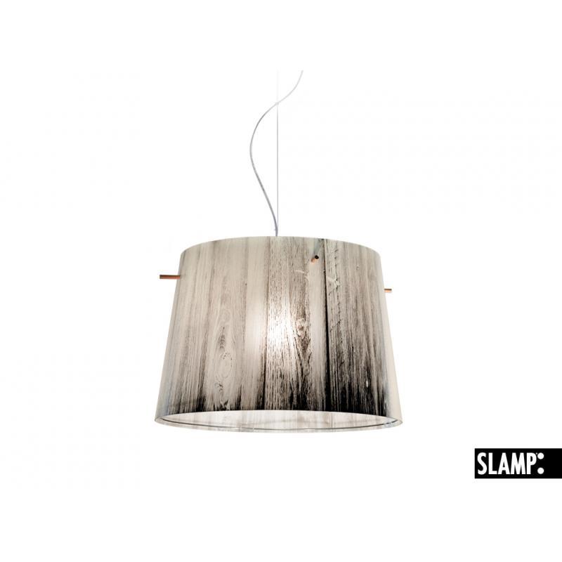 giorno SLAMP WOODY SOSPENSIONE effetto legno