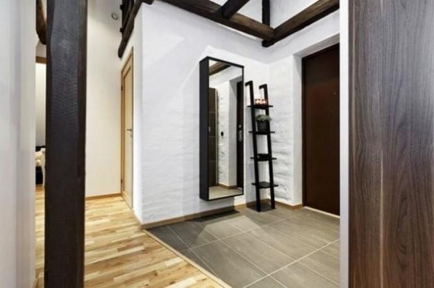 ingresso-moderno-arredamento-a-parete