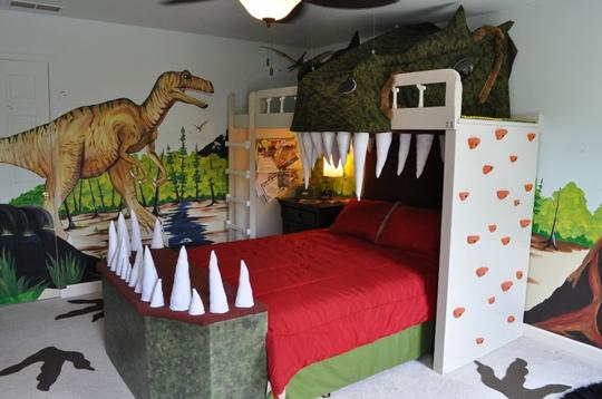 letto dinosauro