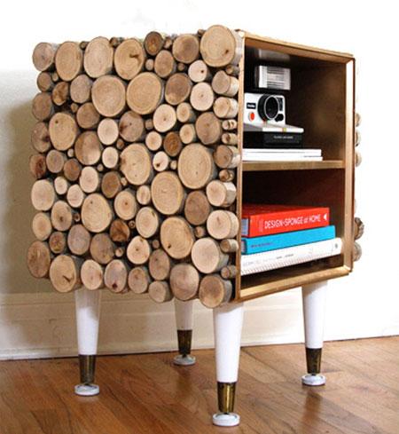 Arredare con le cataste di legna blog arredamento for Mobili stilizzati