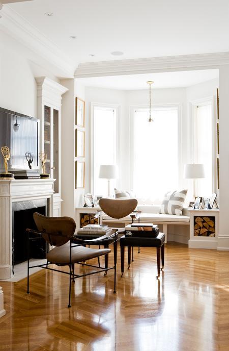 Arredare con le cataste di legna architettura e design a roma - Panca sotto finestra ...