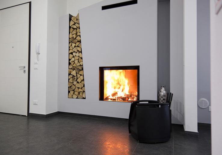 Souvent Arredare con le cataste di legna - Architettura e design a Roma CQ66