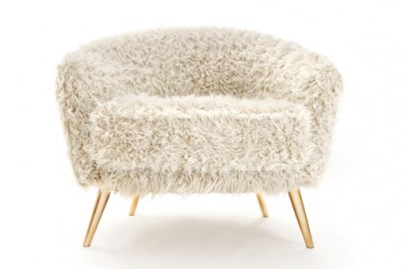 poltrona pelosa Cutie Chair