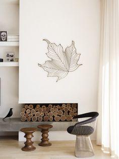 porta legna il camino diventa portalegna decorativo nei mesi in cui non viene usato