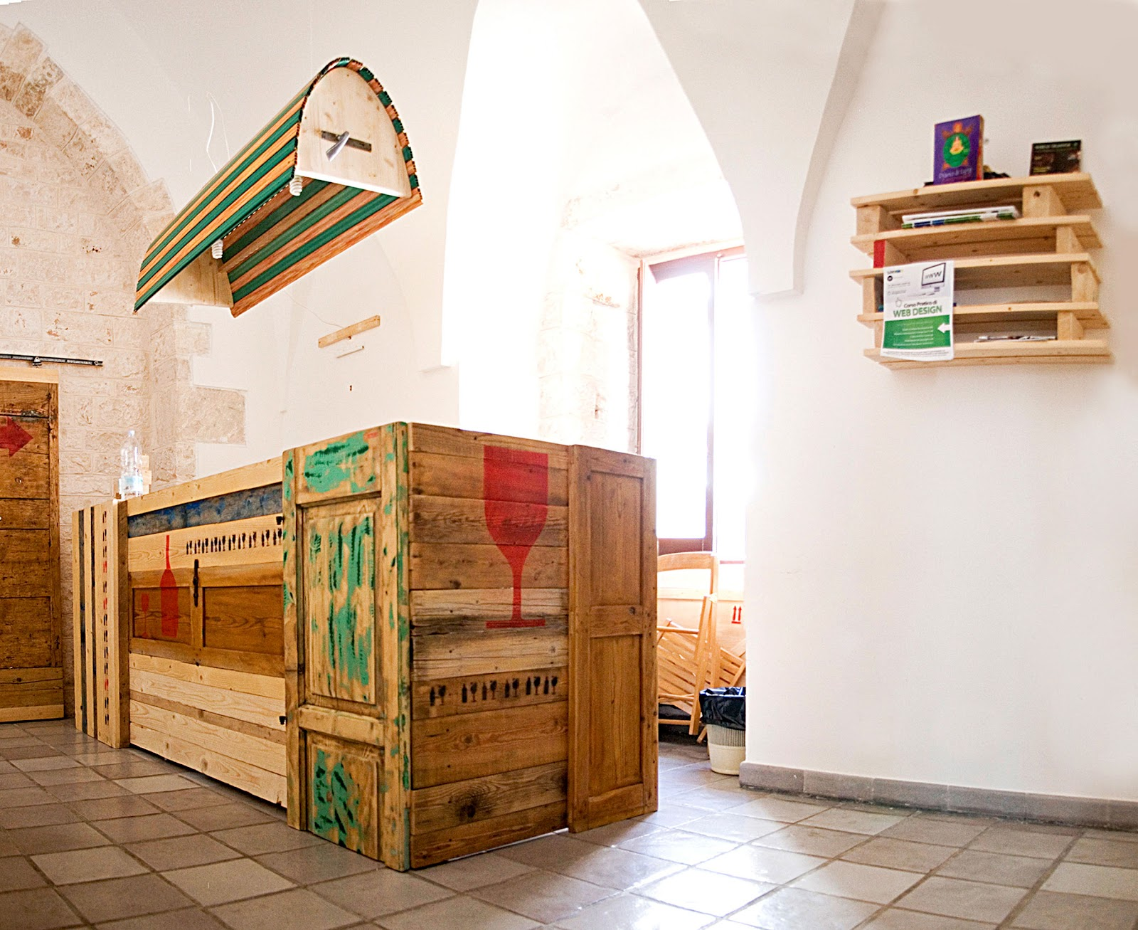 Realizzare desk e banconi creativi architettura e design a roma