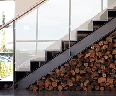 sottoscale legna scala
